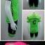 ชุดปั่นจักรยานแขนสั้น CANNONDALE สีเขียว เป้าเจล 3D (แอดไลน์ @pinpinbike ใส่ @ ข้างหน้าด้วยนะคะ) thumbnail 1