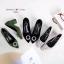รองเท้าคัทชูส้นตัน หัวแหลม(สีเขียว) thumbnail 3
