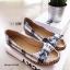 รองเท้าคัทชูส้นแบน เกาหลี สไตล์โบฮิป(น้ำเงิน) thumbnail 3