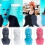 โม่งคลุมหัว สีเทา แบบปิดทั้งหน้า ป้องกันแดด ป้องกันรังสี UV thumbnail 3