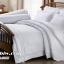ชุดเครื่องนอน ผ้าปูที่นอน สีพื้น สีขาว White