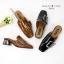 รองเท้าคัทชูส้นตัน เปืดท้าย(สีดำ) thumbnail 4