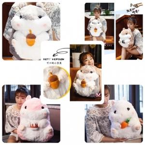 ตุ๊กตาหนูแฮมสเตอร์ Hamster ขนาด 40 cm.