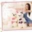 ตุ๊กตาหมีสีขาว ผูกผ้าพันคอ ขนาด 1.3 m. thumbnail 2