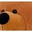 ตุ๊กตาหมีตัวใหญ่ ผูกโบว์ สีน้ำตาล ขนาด 80 cm. thumbnail 5