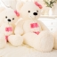 ตุ๊กตาหมีสีขาว ผูกผ้าพันคอ ขนาด 1.3 m. thumbnail 3