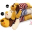ตุ๊กตาสุนัข หมอนข้าง (ใส่เสื้อลายสีแดง) ขนาด 90 cm. thumbnail 2