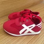รองเท้าเด็ก Mikky สีแดง
