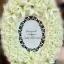 พวงมาลาถวายความอาลัยสีขาว ดอกไม้ประดิษฐ์1