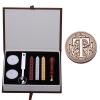 AT Letter Alphabet Wax Badge Seal Stamp w/Wax Kit Set Letter A-ZOptional (Intl)