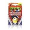 Crayola 8 Ct.Crayons: Viva Le Minion (1ชุด = 2 ชิ้น)(...)