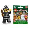 LEGO : LEGO MINI FIGURE SERIES 11 : No.15 CONSTABLE ตำรวจอังกฤษสก๊อตแลนด์ยาร์ด