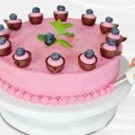แท่นแต่งเค้ก หมุนได้ BAKE139