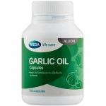 Mega We Care Garlic Oil 100 เม็ด น้ำมันกระเทียม ลดโคเลสเตอรอล