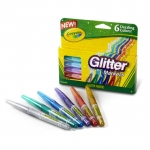 Crayola 6 Ct. Glitter Markers