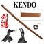 JAPAN ดาบไม้ซามูไร bokkenงานคุณภาพผลิตจากไม้เนื้อแข็ง(เพิ่มสายเชือกห่อรอบที่จับ) thumbnail 1